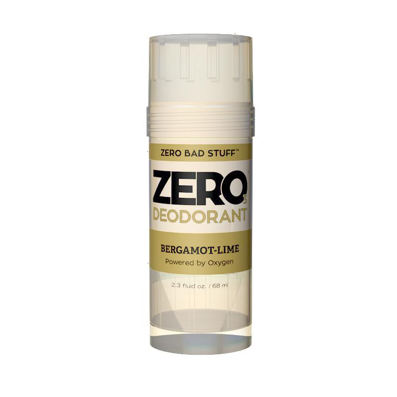 ZERO bergamot lime deodorant