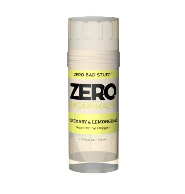Zero Rosemary & Lemongrass Deodorant