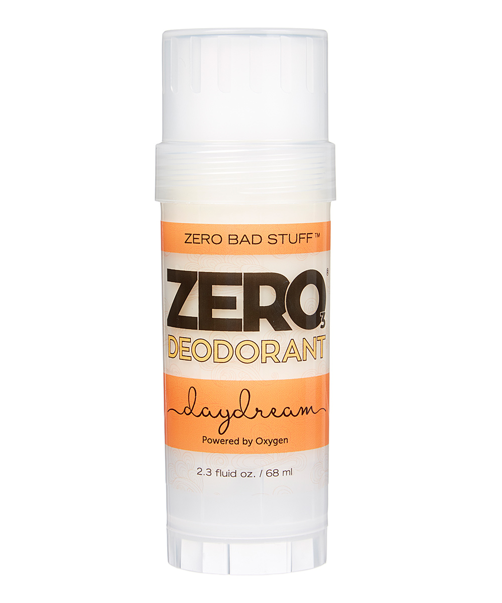ZERO Deodorant – Oxygen Powered De-Stinkerizer – Long Lasting, All Natural, Safe for Sensitive Skin – Daydream (Pink Grapefruit, Lime & Benzoin Essential Oils)