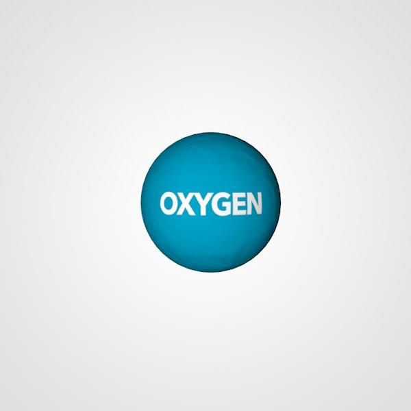 Atomic oxygen atom