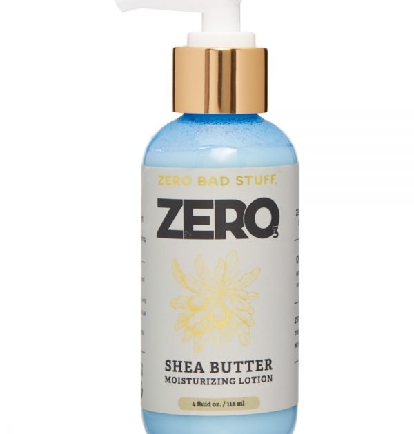 zero 2 ingredient shea butter hand and body lotion