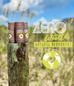 zero waste plastic free eco-friendly biodegradable natural deodorant